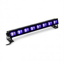 BUVW83 LED BAR 8x 3W UV/WW 2in1 30W Plug & Play geräuschlos