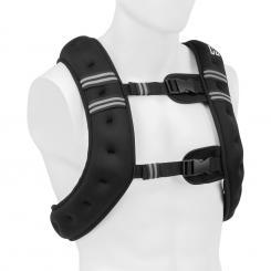 X-Vest Gewichtsweste 10 kg Neopren/Nylon 2 Brustgurte schwarz 10 kg