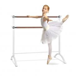 Barre Anna Doppel-Ballettstange, 110 x 113 cm, 2 x 38mm Ø weiß Weiß | 110 cm
