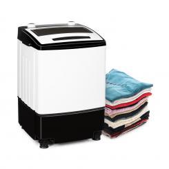 Bubble Boost Waschmaschine 380W 3,5kg Timer 0-10 min. schwarz