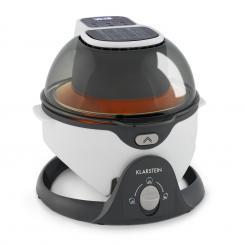 VitAir Pommesmaster Heißluftfritteuse 360° 1400W 50-240°C Timer Weiß