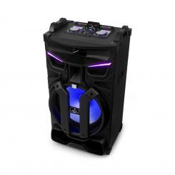 """Silhouettes Party-Soundsystem 15"""" Lautsprecher USB, SD, BT 450W schwarz 450 W"""
