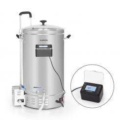 Brauheld Pro Maischekessel 2500W 35L 30-100°C Umwälzpumpe Edelstahl 35 Ltr