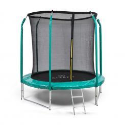 Jumpstarter Trampolin 2,5m Ø Netz 120kg max. dunkelgrün Dunkelgrün