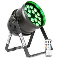 BPP210 LED Par Scheinwerfer 64 18x 12W 4-in-1 LEDs inkl. Fernbedienung