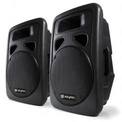 SP1500A Paar PA-Lautsprecher 38cm Aktiv-Box 2x800W ABS