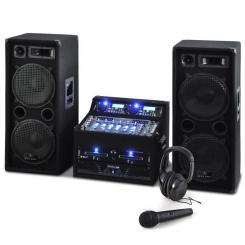 DJ PA Set Rack Star Terra Titan 2000W 400 Personen