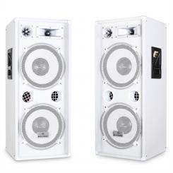 PW-2222Paar PA-Box 3-Wege Lautsprecher 2000W