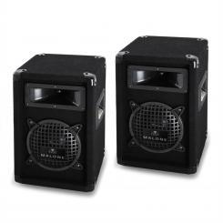 "PW-0622 Boxen-Paar Lautsprecher 16,5cm, 6,5"" 500W max."