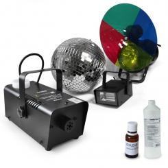 """Party Lichtset """"Deneb"""" Stroboskop Nebelmaschine"""