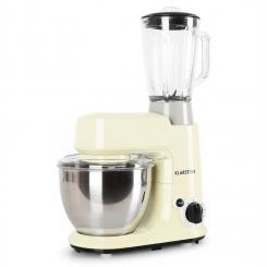 Carina Morena Set 800W Küchenmaschine plus 1,5L Blender Krug Creme