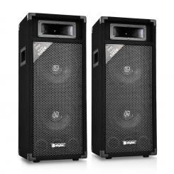 SM28 Paar PA-Lautsprecher 2x20cm 500W PA-Box
