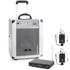 Mobile PA-Anlage mit Funkmikron PA-System mit Bluetooth