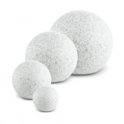 Shinestone S-XL Kugelleuchten Set Außenleuchten Gartenlampen granit