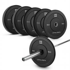 Lionbar Set Men 2 Langhantelstange 2 x 5 kg 2 x 10 kg Gewicht
