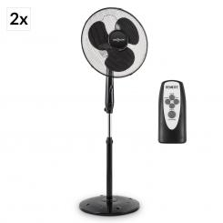 Black Blizzard RC 2G Standventilator Set 50 W 41 cm Fernbedienung