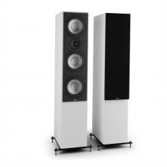 Reference 801 Drei-Wege-Standlautsprecher Paar weiß inkl. Cover schwarz Weiß | Schwarz
