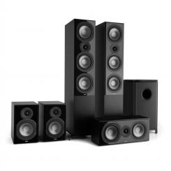 Reference 851 5.1-Soundsystem schwarz Schwarz | Kein Cover
