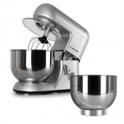 Bella Argentea Komplettset Küchenmaschine + Zusatzschüssel silber