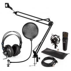 MIC-920B USB Mikrofon-Set V4 Kopfhörer Mikrofon Mikrofonarm POP-Schutz