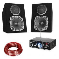 HiFi Stereo Sound Set USB SD MP3 - 30 Watt