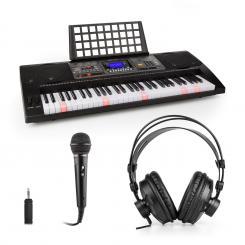 Etude 450 Lern-Keyboard-Set Kopfhörer Mikrofon Adapter