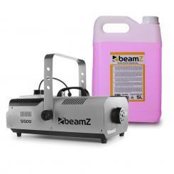 S1500 Nebelmaschine inkl. 5-Liter-Nebelfluid 1500W DMX