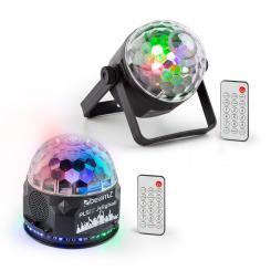 PLS35 Set V2 4 x 3W LEDs PLS15 Strobe LED-Stroboskop