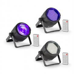 PLS30 Set V3 10W 4in1 RGBW PLS15 LED-Stroboskop PLS20 LED-Strahler