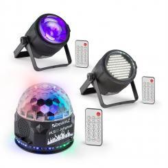PLS10 Set V4 Jellyball PLS15 LED-Stroboskop PLS30 LED-Strahler