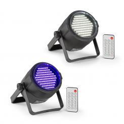 PLS15 Set V6 LED-Stroboskop PLS20 Blacklight UV Par LED-Strahler
