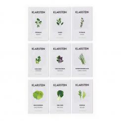 GrowIt Seeds Samen-Set 9x Samen: 3x Asia, 3x Europa, 3x Salat