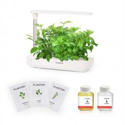 GrowIt Flex Starter Kit Europa 9 Pflanzen 18W LED 2Ltr Europe-Seeds Nährlösung