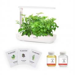 GrowIt Flex Starter Kit Asia 9 Pflanzen 18W LED 2 Ltr Asia-Seeds Nährlösung
