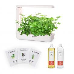GrowIt Cuisine Starter Kit Asia 10 Pflanzen 25W LED 2Ltr Asia-Seeds Nährlösung