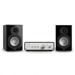 Drive 802 Stereo-Set Digital Stereo-Verstärker + 2 Regallautsprecher BT5.0 Fernbedienung Schwarz / SchwarzDrive 802 Stereo-Set Digital Stereo-Verstärker + 2 Regallautsprecher BT5.0 Fernbedienung Schwarz / Schwarz
