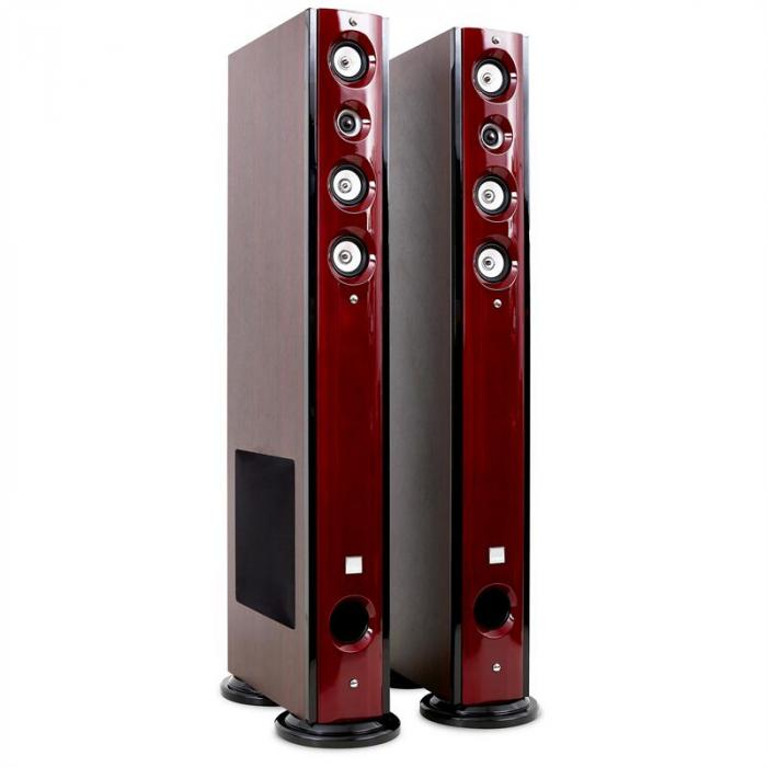 D92f coppia diffusori da pavimento 1500w 5 vie stereo sub electronic star it - Casse acustiche design ...