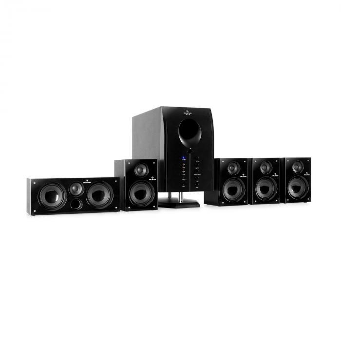 Auna Areal 525 BK 5.1 surroundZestaw aktywnych głośników kina domowego 125W RMS