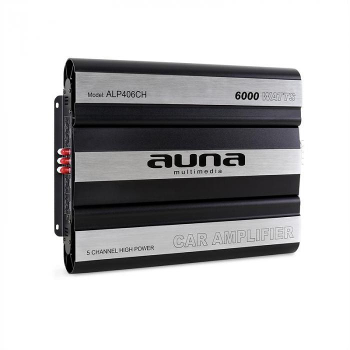 6000 Watt 5-Channel Bridgeable MOSFET Car Amplifier