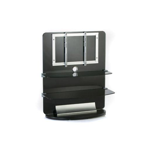 Electronic-Star Stojak do telewizora TV szkło 2 poziomy LCD rack czarny