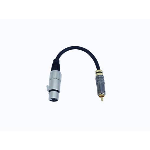RCA-to-XLR-naaras DJ PA kaapeli - SADC-adapteri