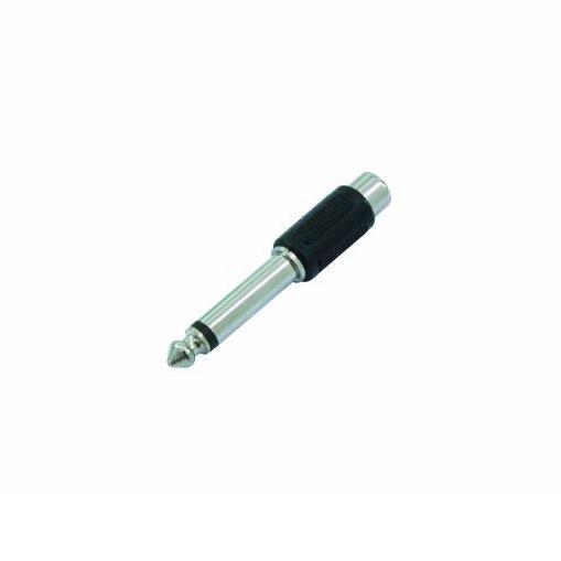 Adattatore RCA femmina a jack da 6,3 mm - mono