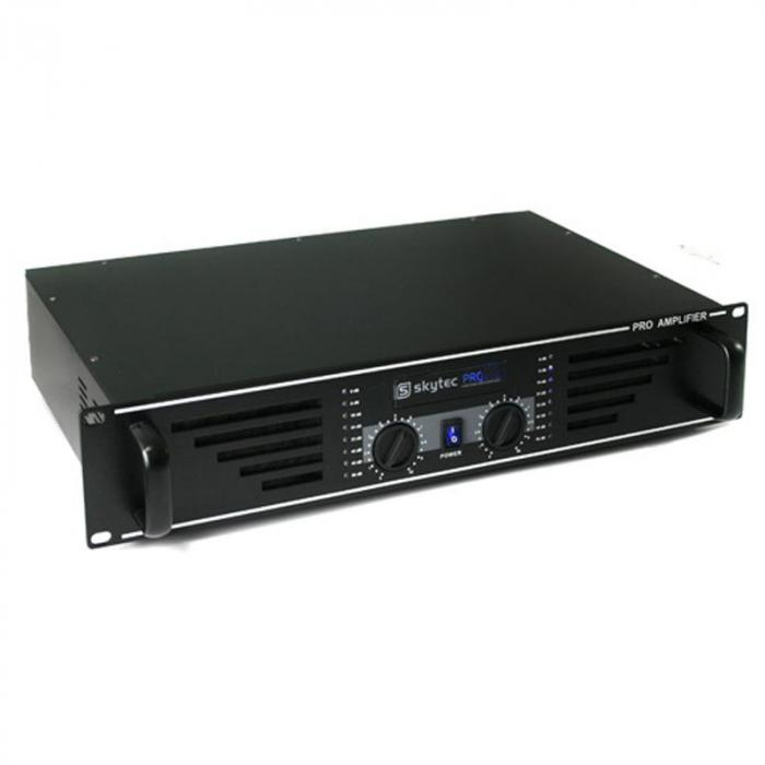 Skytec SKY-600 AMP-600 wzmacniacz PA 2 x 600W czarny