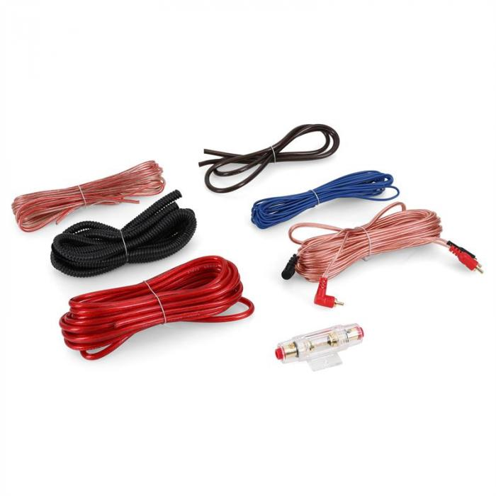 Electronic-Star Zestaw kabli samochodowych- pozłacany Cablekit Car 60A AGU