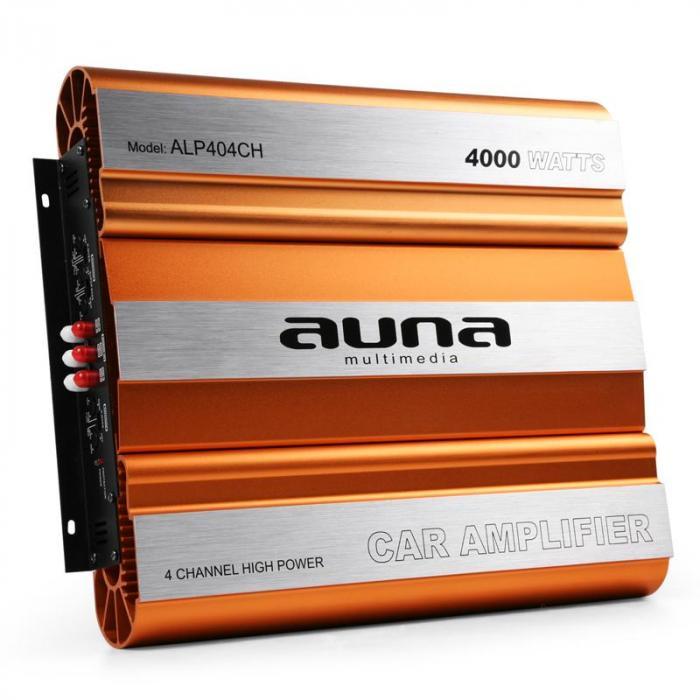 Amplificatore Auto 4000W Mosfet 4/3/2 canali