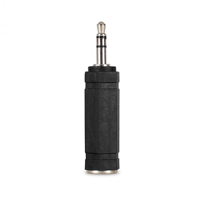 Auna 1 x adapter mini-jack 3,5 mm – jack 6,3 mm