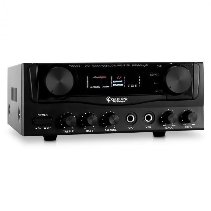 AV1 Amp-2 HiFi-Verstärker PA-Amplifier Karaoke ...