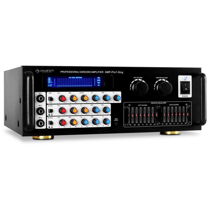 Amplificador de microfone nível de saída PA