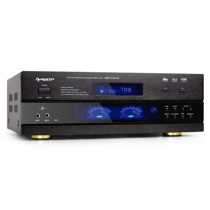 AMP-5100 Amplificatore surround 5.1 ricevitore 1200W