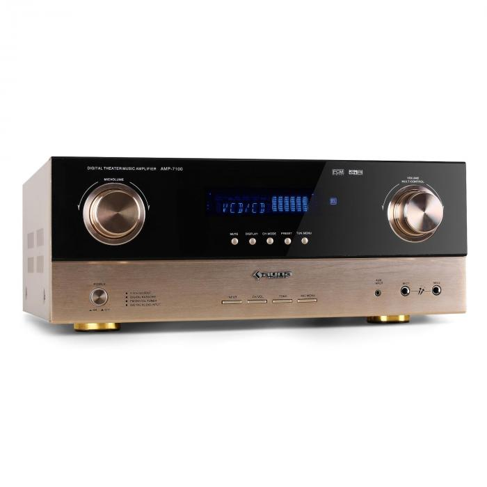 AMP-7100 Home Hifi 7.1 AV Receiver 2000W Amplifier